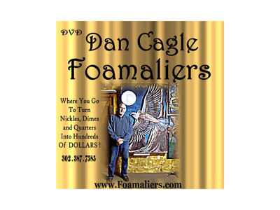 DAN CAGLE Foamaliers.com  How-To Foam Carving DVDs orders 3023877585